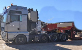 MAN 41.530 with low bed trailer Faymonville + semi-remorque porte-engins Sattelzugmaschine