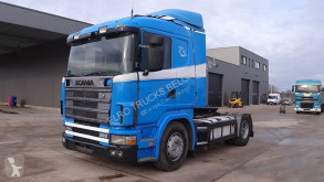 tractor Scania 114 - 380 (MANUAL GEARBOX / BOITE MANUELLE / HYDRAULIC)