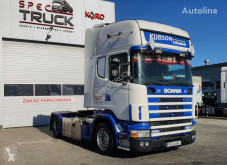 Scania L124.420, Steel /Air, Manual, RETARDER tractor unit