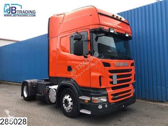 Voir les photos Tracteur Scania R 380