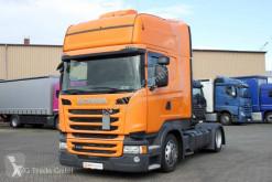 Tracteur Scania R 410 Topline etade Standklima 2x Tank ACC convoi exceptionnel occasion