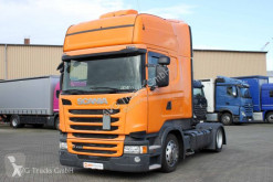 Scania R 410 Topline etade Standklima 2x Tank ACC tractor unit used exceptional transport