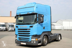 Tracteur Scania R 450 SC ONLY ! Topline Standklima 2x Tank ACC convoi exceptionnel occasion