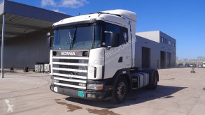 tractor Scania 124 - 400 (MANUAL GEARBOX and MANUAL PUMP)