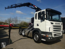 Scania exceptional transport tractor unit G440 SZM mit HIAB XS211 4x hydr. Funk 5.+6.Bed.