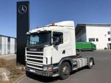 Traktor Scania R 124 LA 420 4x2 Retarder Klima manuell Euro 3 brugt