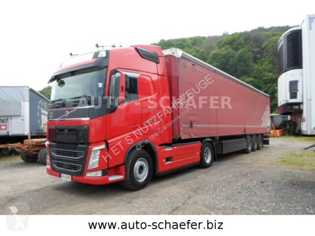 Преглед на снимките Влекач Volvo FH 500/ VOLLSPOILER/Schmitz Auflieger