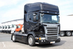 Cabeza tractora usada Scania R 450 SC Only Topline LDW ACC Alcoa 2xTank