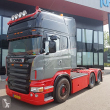 cabeza tractora Scania R560 6X2 full air manual retarder new condition interior