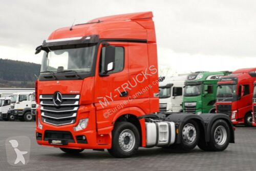 View images Mercedes Actros  tractor unit