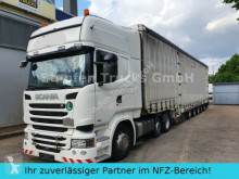 Used exceptional transport tractor unit Scania R 490 6X2 DINKEL 8-Achs Maschin/Schwerlast ZUG!