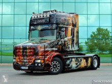 Scania T164 580, rebuild to T580 tractor unit
