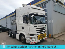 Used exceptional transport tractor unit Scania R 490 Topline 6X2 Vorlaufa. LOW EURO 6 Schwerlas