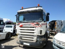 Tracteur Scania R 420 accidenté