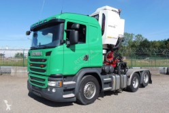 Used exceptional transport tractor unit Scania G 410