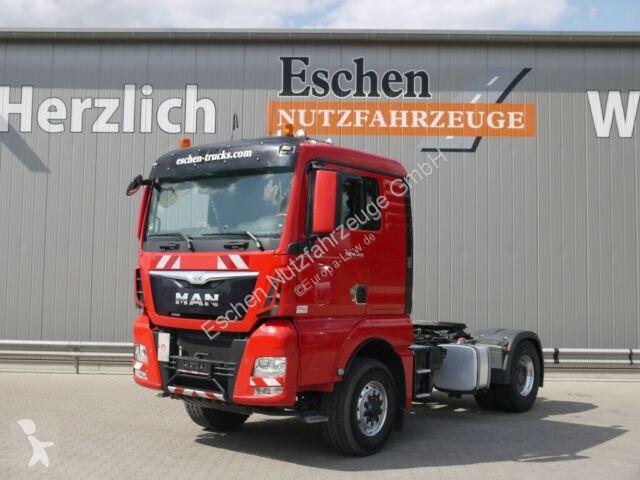 "Voir les photos Tracteur MAN TGX 18.480 4x4 H BLS ""XL"" Haus, Kipphydraulik"