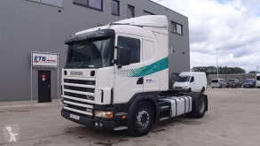 tracteur Scania 114 - 380 (BOITE MANUELLE / MANUAL GEARBOX)