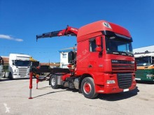 DAF XF105 460 tractor unit used exceptional transport