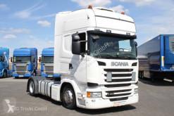Tracteur produits dangereux / adr Scania R 450 Topline Standklima LDW ACC 1.200 Lite