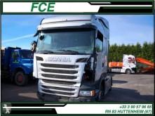 Tracteur Scania accidenté