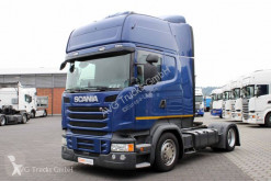 Scania exceptional transport tractor unit R 450 Topline Standklima LDW ACC 2xTank