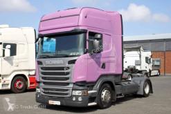 Scania exceptional transport tractor unit R 410 Topline etade LDW ACC 2xTank