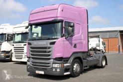 Cabeza tractora Scania R 410 Topline etade LDW ACC 2xTank convoy excepcional usada