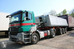Camion remorque benne Mercedes Axor Axor 1840 LS EURO5 mit Auflieger