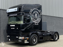 cap tractor Scania 144-460 V8 Showtruck Manual Special interieur