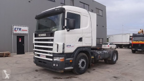 tracteur Scania 124 - 420 (MANUAL GEARBOX / BOITE MANUELLE)