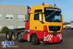 Cabeza tractora convoy excepcional usada MAN 41.540 BBS TGX 8x4, 160to., AHK, XXL, dachklima