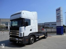 Scania R124 420 tractor unit used low bed