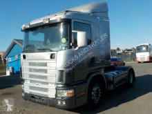 cap tractor Scania 144-460-V8POWER-RETARDER-ORG KM