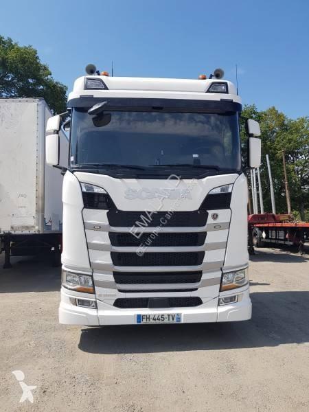 Voir les photos Tracteur Scania S 500