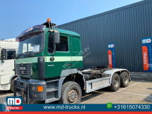 MAN 35 414 manual full steel tractor unit used