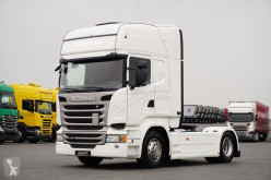 Cabeza tractora Scania R - 410 / BEZ EG / EUO 6 / ETADE / BAKI 1400 L usada