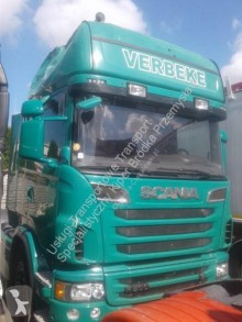 Cabeza tractora Scania R 500 accidentada