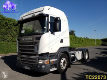 Scania R 490 tractor unit used hazardous materials / ADR