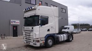 Tracteur Scania 124 - 420 Topline (MANUAL GEARBOX / BOITE MANUELLE)
