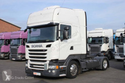 Used low bed tractor unit Scania R 410 Topline etade ACC LDW Alcoa