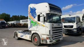 Cabeza tractora Scania 144 530 V8 - Schaltgetriebe/Retarder/Hydrau usada