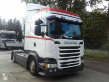 Used low bed tractor unit Scania G Mega Sattelzugmaschine Scania G450