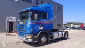 Cabeza tractora Scania 124 - 400 (MANUAL PUMP & MANUAL GEARBOX / POMPE MANUEL & BOITE MANUELLE)