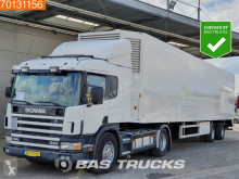 Used box tractor-trailer Scania P114