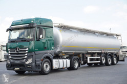 Nc MERCEDES-BENZ - ACTROS / 1845 / ADR / CYSTERNA CHEMICZNA L4BH + citerne tractor-trailer used tanker