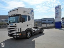 Used low bed tractor unit Scania R124 420