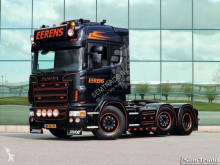Cabeza tractora Scania R620 V8 6X2 MANUAL GEARBOX KING OF THE ROAD PTO + HYDRAULICS usada