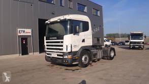 Cabeza tractora Scania 124 - 360 (BOITE MANEULLE / POMPE MANUELLE)