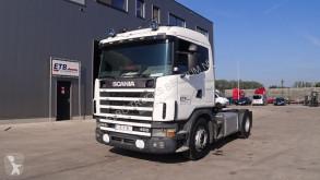 Tracteur occasion Scania 124 - 360 (POMPE MANUELLE / BOITE MANUELLE)