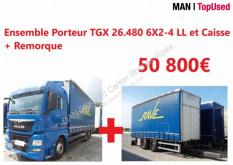 MAN TGX 26.480 6X2-4 LL tractor unit used